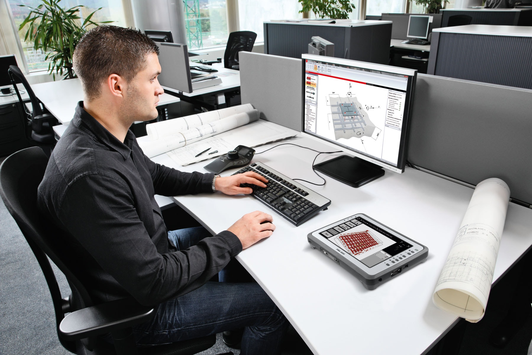 Hilti PC software for Ferroscan and X-Scan detection systems
