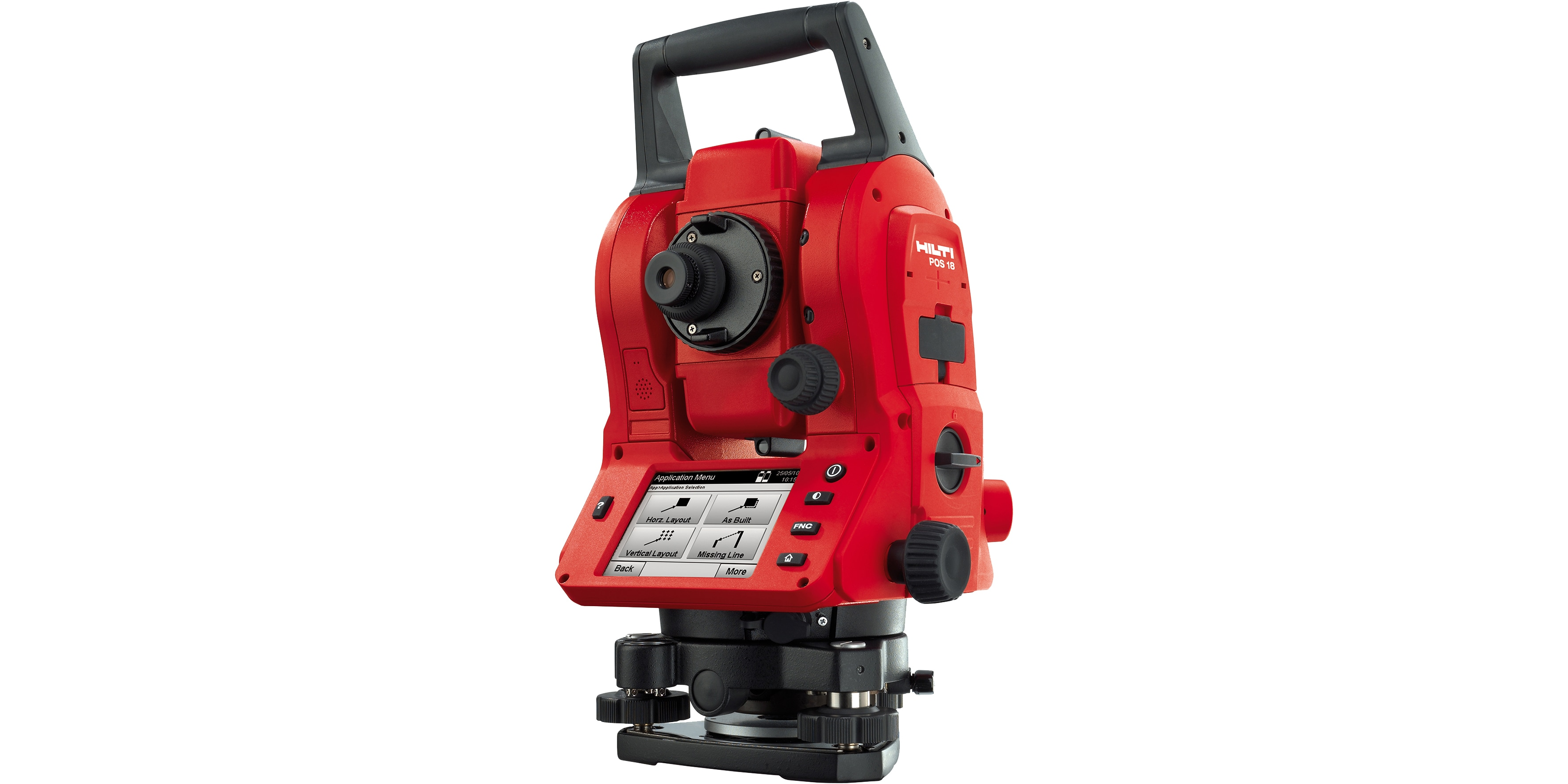 Hilti mechanical total station