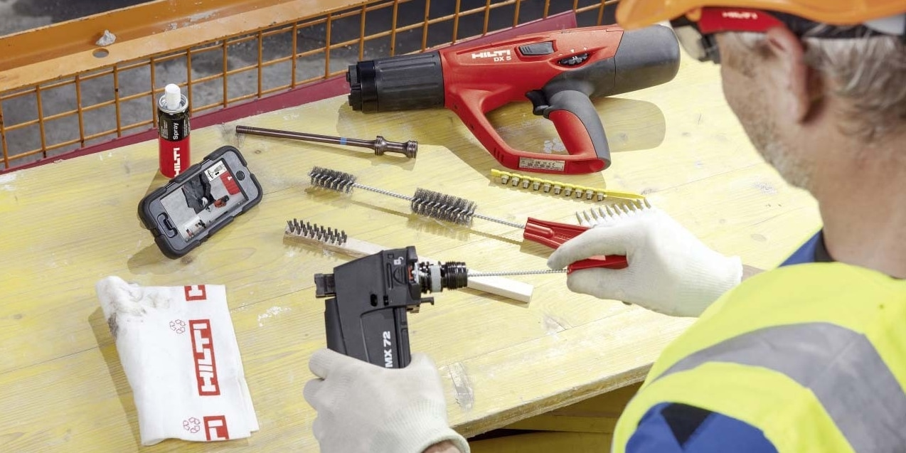 DX 5 powder-actuated tool maintenance service