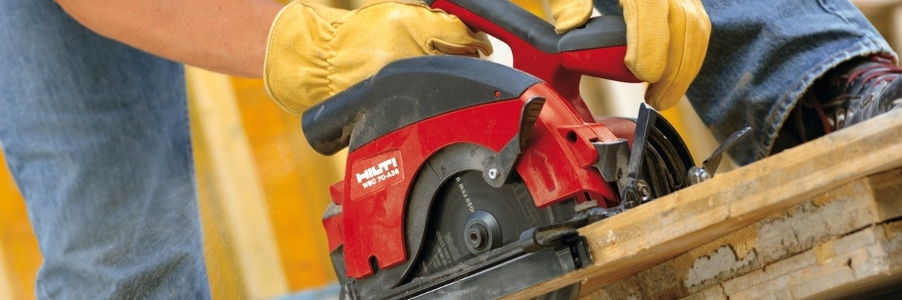 Hilti health & safety training for hand-held electrical saws