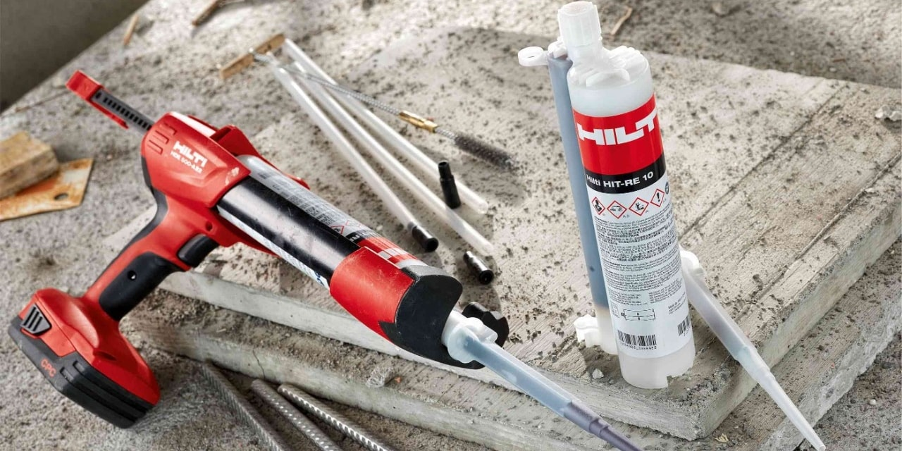 Hilti HIT-RE 10 580 ml injectable mortar system