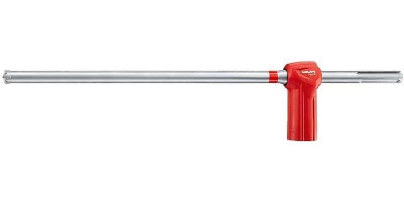 TE-YD hammer drill bit as part of the Hilti SafeSet systems, for drilling in reinforced concrete