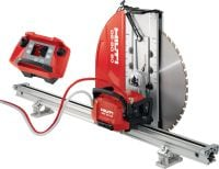 DST 20-CA Wall saw Electric wall saw for tough cutting jobs with cut assistance and on-board control electronics (no e-box)