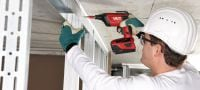 SD 5000-A22 Cordless drywall screwdriver Applications 2